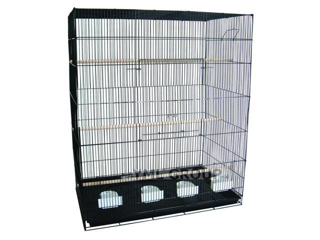 YML 4 Large Breeding Cages - Black - 4x2484BLK