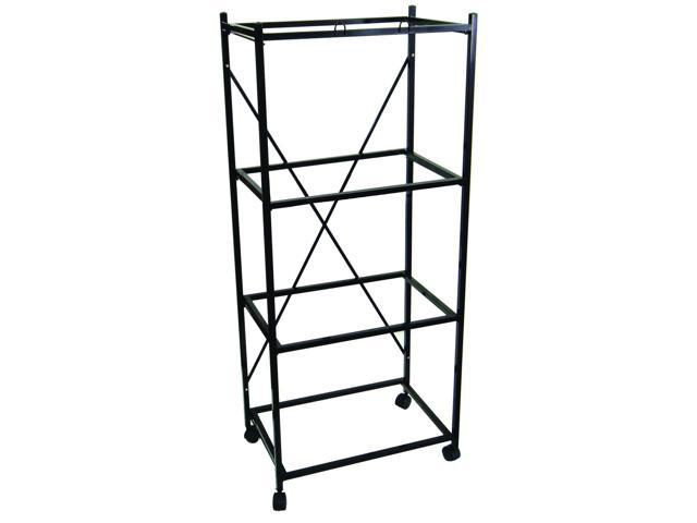 YML Group Home Indoor Pet Decorative 4 Shelf Stand for 2424 and 2434, Black