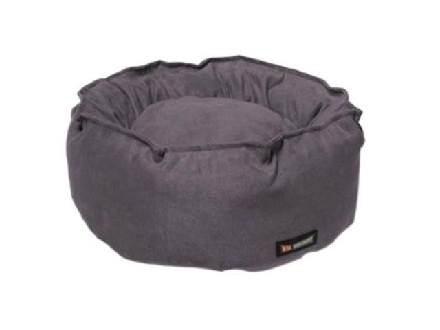 Big Shrimpy Indoor Luxurious Soft Fleece Pet Catalina Sleeping Bed Stone Suede
