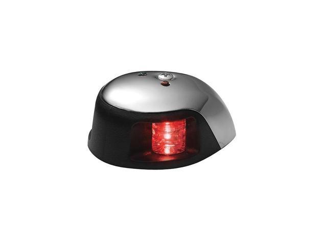 Attwood 3500 Series 1-Mile LED Red Sidelight - 12V - Stainless Steel Housing