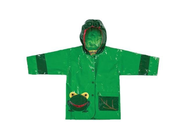 Kidorable Kids Children Outwear Frog PU Coats Size 4T