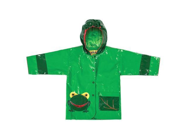 Kidorable Kids Children Outwear Frog PU Coats Size 4/5