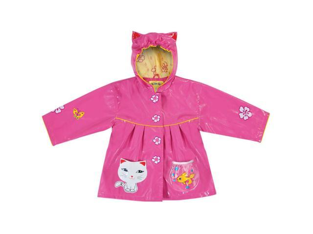 Kidorable Kids Children Outwear Lucky Cat PU Coats Size12-18 Months