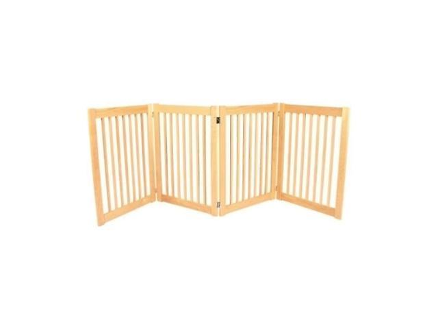 Dynamic Accents Legacy 4 Panel Portable Indoor / Outdoor Pet Gate Fence