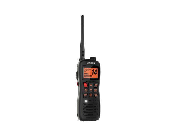Uniden MHS235 Submersible Floating VHF/GPS Handheld Marine Radio