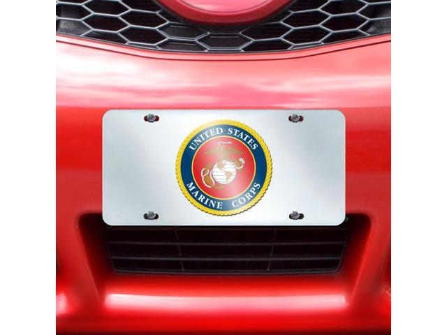 Fanmats Marines License Plate Inlaid 6