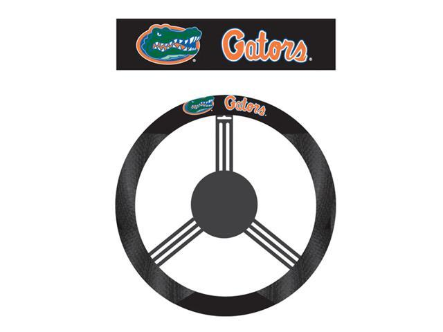 Fremont Die College Sports Team Logo Florida Gators Poly-Suede Steering Wheel Cover