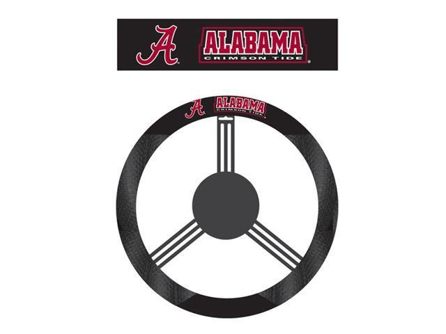 Fremont Die College Sports Team Alabama Crimson Tide Poly-Suede Steering Wheel Cover