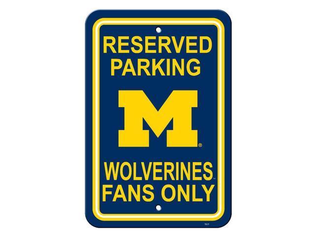 Fremont Die College Sports Team Logo Michigan Wolverines 12