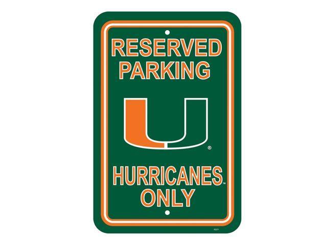 Fremont Die College Sports Team Logo Miami Hurricanes 12