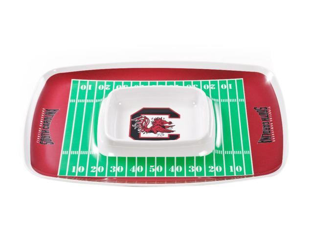 BSI PRODUCTS 32026 Chip & Dip Tray - South Carolina Gamecocks