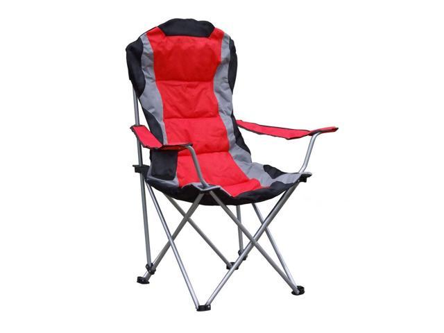 Giga Tents Folding Outdoor Beach Camping chair,  RED