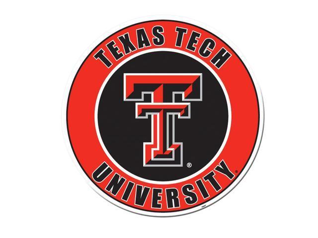 Fremont Die College Sports Team Logo Texas Tech Red Raiders Door Stick Vinyl Magnet