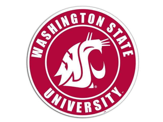 Fremont Die College Sports Team Logo Washington State Cougars Door Stick Vinyl Magnet