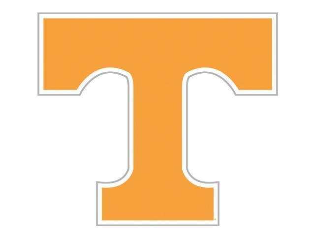 Fremont Die College Sports Team Logo Tennessee Volunteers Door Stick Vinyl Magnet