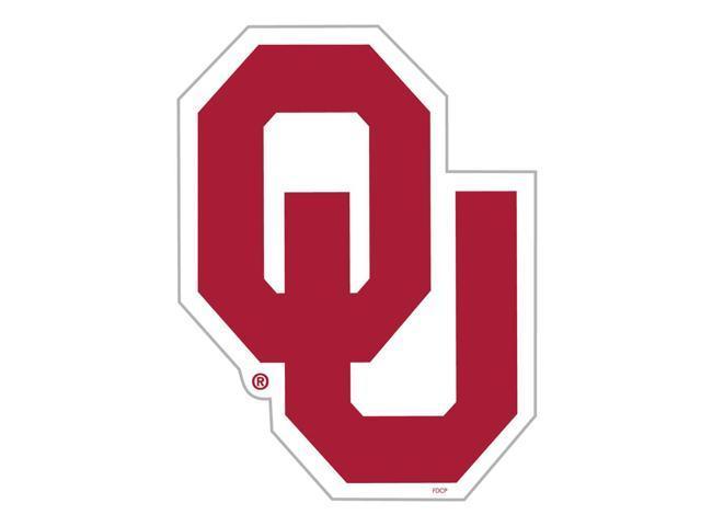 Fremont Die College Sports Team Logo Oklahoma Sooners Door Stick Vinyl Magnet
