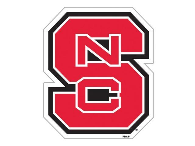 Fremont Die College Sports Team Logo N. Carolina State Wolfpack Door Stick Vinyl Magnet