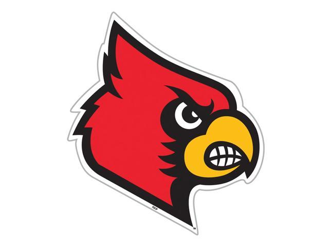 Fremont Die College Sports Team Logo Louisville Cardinals Door Stick Vinyl Magnet
