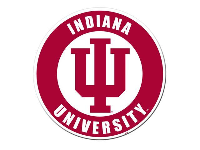 Fremont Die College Sports Team Logo Indiana Hoosiers Door Stick Vinyl Magnet