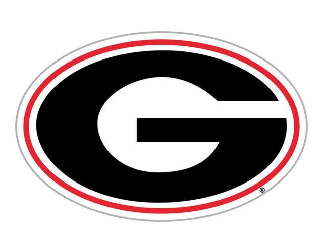 Fremont Die College Sports Team Logo Georgia Bulldogs Door Stick Vinyl Magnet - 58724
