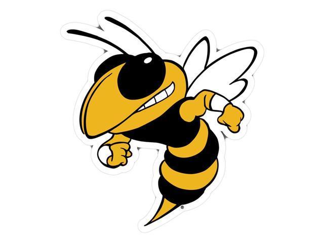 Fremont Die College Sports Team Logo Georgia Tech Yellow Jackets Door Stick Vinyl Magnet