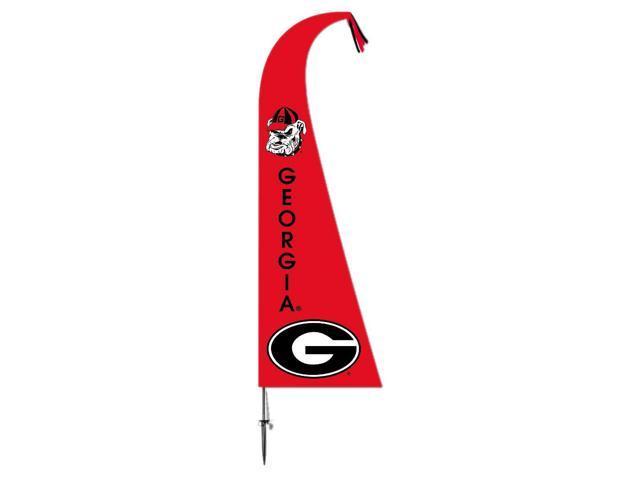 BSI Decorative Sports Team logo Georgia Bulldogs Feather Flag