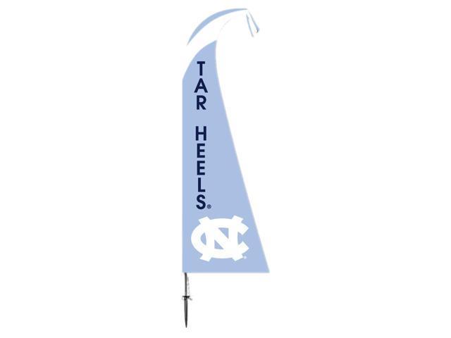 BSI Decorative Sports Team logo North Carolina Tar Heels Feather Flag