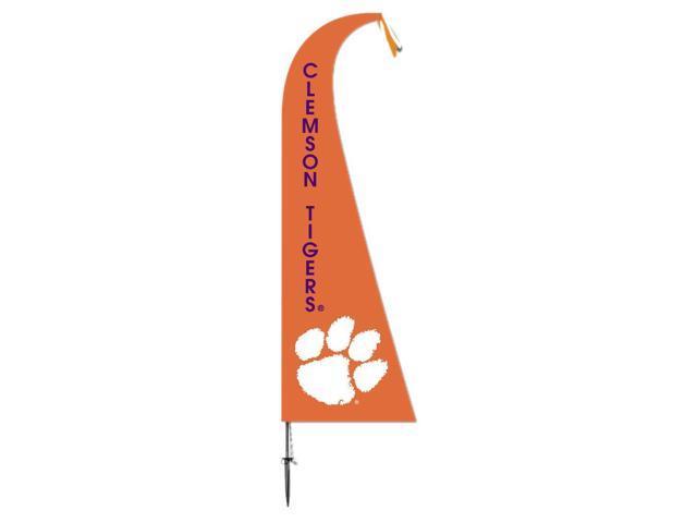 BSI Decorative Sports Team logo Clemson Tigers Feather Flag