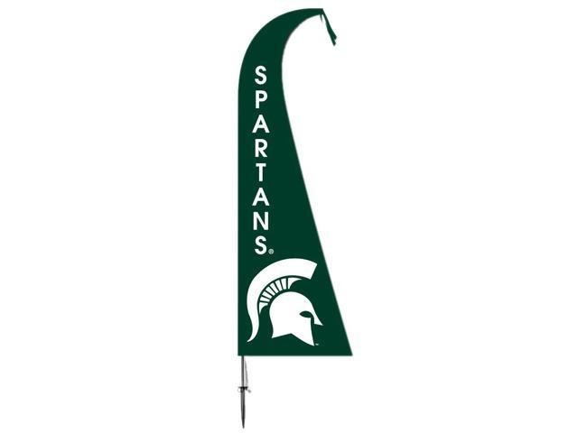 BSI Decorative Sports Team logo Michigan State Spartans Feather Flag