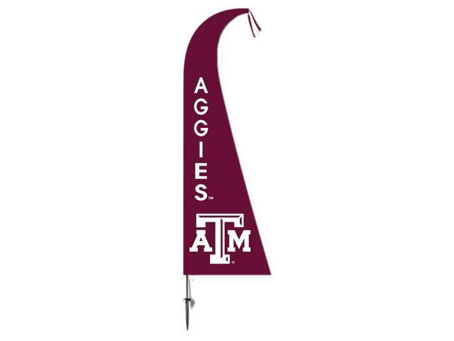 BSI Decorative Sports Team logo Texas A&M Aggies Feather Flag