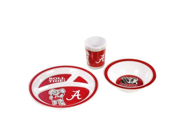 BSI Alabama Crimson Tide Kid's 3 Pc. Dish Set