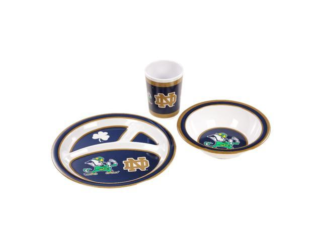 BSI Notre Dame Fighting Irish Kid's 3 Pc. Dish Set