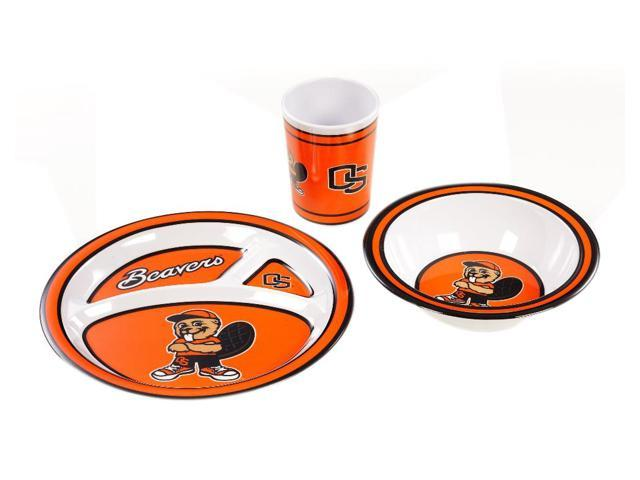 BSI Oregon State Beavers Kid's 3 Pc. Dish Set