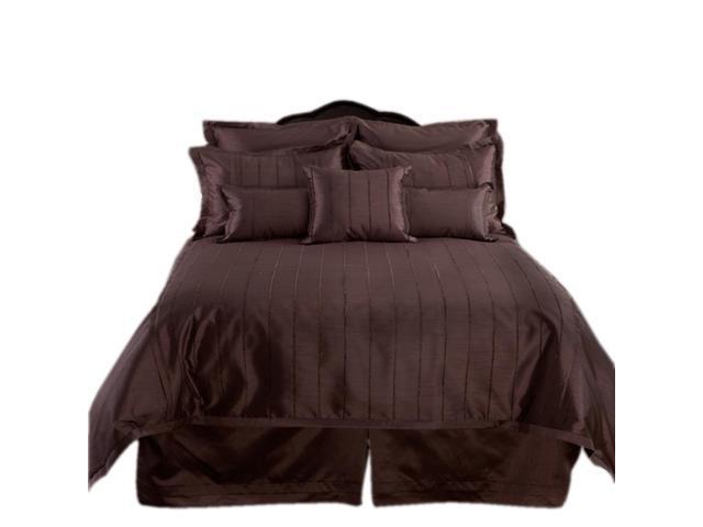 Veratex Home Decorative Bedding Collection Braxton Boudoir Pillow Boudoir Chocolate