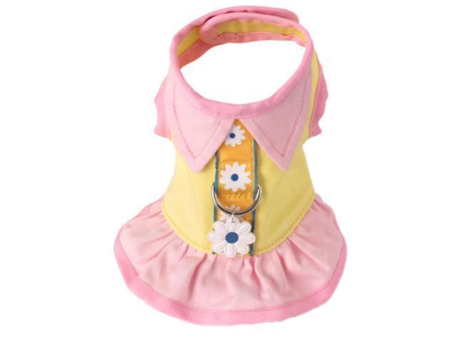 Doggles HADSTC03 TC Harness Dress - Yellow