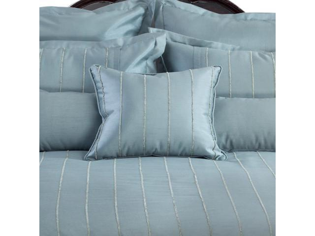 Veratex Home Decorative Bedding Collection Braxton Comforter Set King Mineral