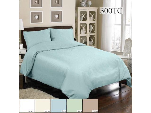 Veratex Home Decorative Bedding Collection Mini Duvet Set 300Tc Duvet Set D.King Blue