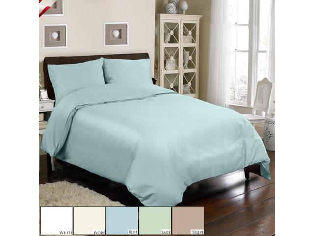 Veratex Home Decorative Bedding Collection Mini Duvet Set 300Tc Duvet Set Queen Blue