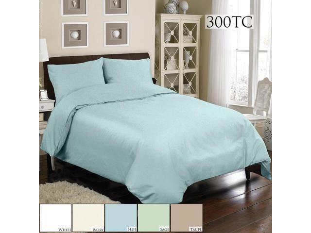Veratex Home Decorative Bedding Collection Mini Duvet Set 300Tc Duvet Set C.King Blue