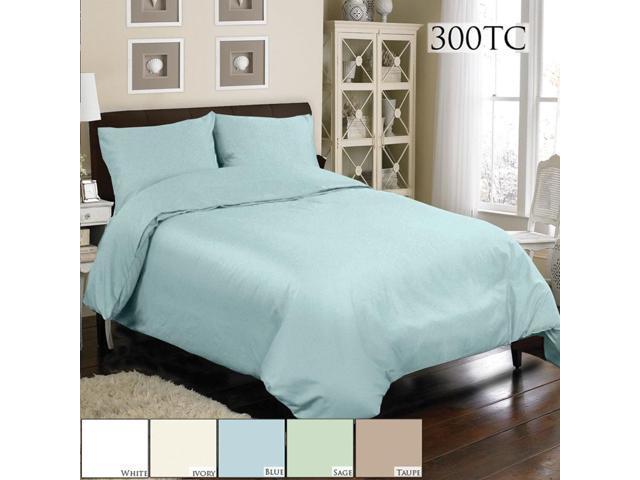 Veratex Home Decorative Bedding Collection Mini Duvet Set 300Tc Duvet Set Queen Sage