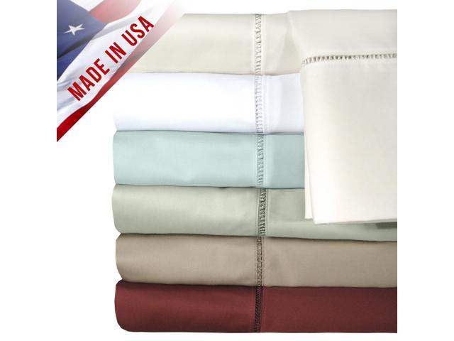 Veratex Home Decorative Bedding Collection Legacy Collection 300Tc Sheet Set Full Taupe
