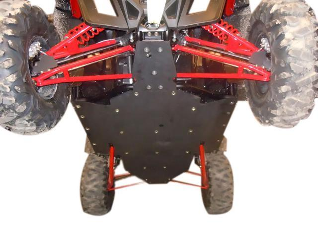 SSS OFF Road Vehicle Underbody RZR XP 900 UHMW Skid Plate