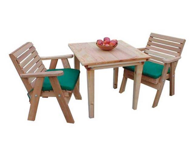Creekvine Designs Home Outdoor Cedar Classic Dining Set