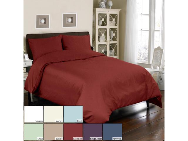 Veratex Home Decorative Bedding Accessories Mini Duvet Set 500Tc Duvet Set C.King Taupe