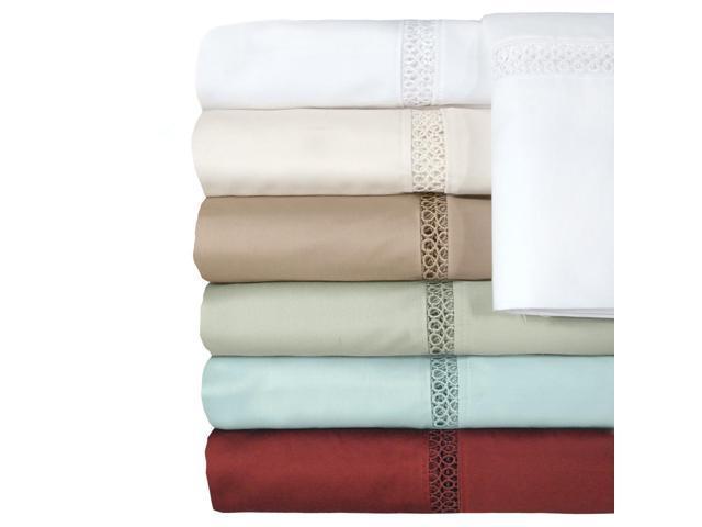 Veratex Indoor Decorative Bedding Accessories Princeton Coll 300Tc Pillowcase Pair King Sage