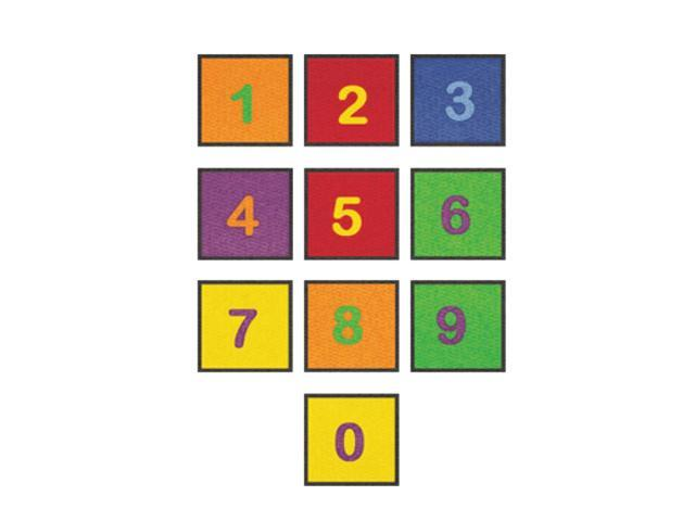 Learning Carpets Indoor Outdoor Playmat Numbers - CPR527 10 x 14
