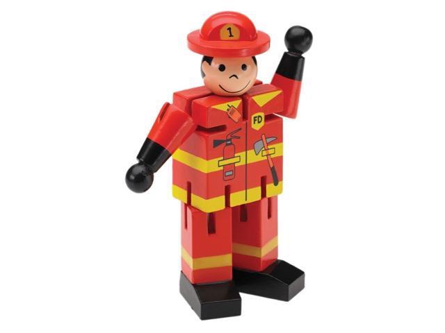 The Original Toy Company Mini Fireman Display of 12