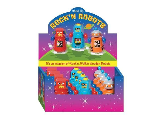 The Original Toy Company Wind-up Rock'n Robots