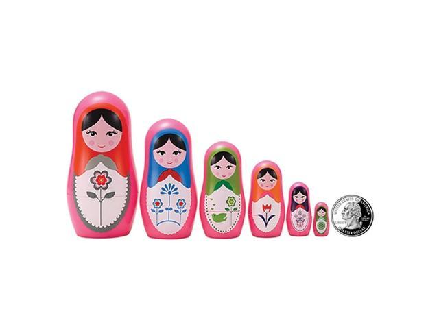 The Original Toy Company Babushka Micro Nesting Dolls Set