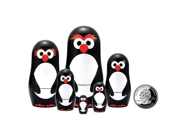 The Original Toy Company Penguin Micro Nesting Dolls Set